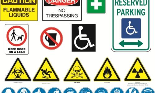 Drawing Design Amp Printing Of Signage Safety Source Ltd